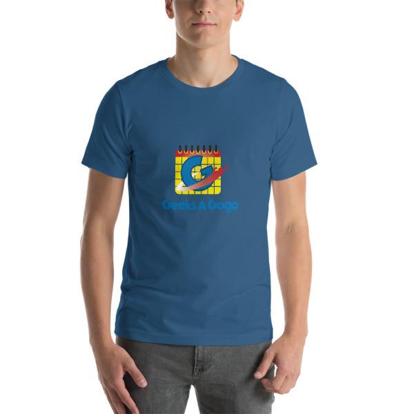 Geeks A Gogo Short Sleeve Unisex Shirt