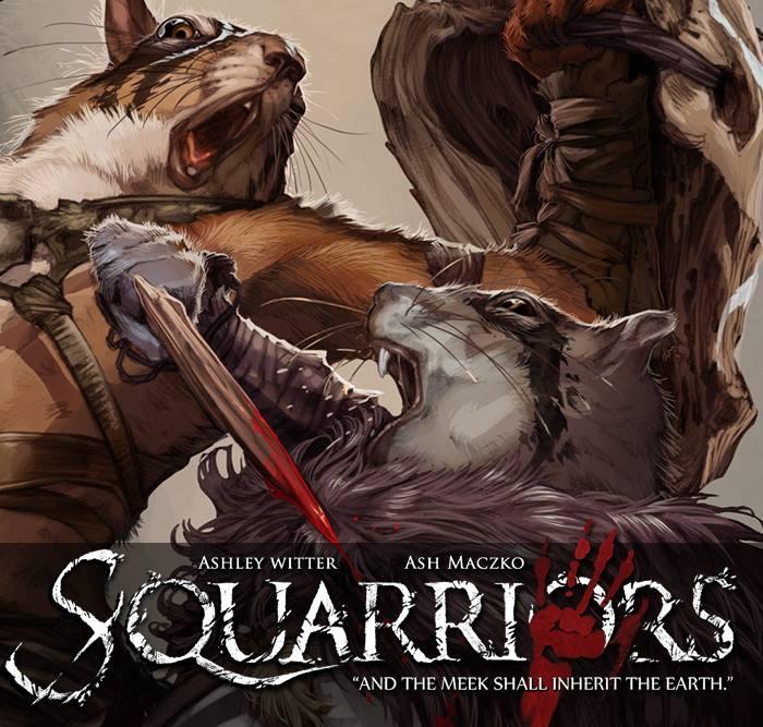 Squarriors Graphic Novel
