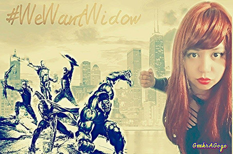 #WEWANTWIDOW: Black Widow Flash Mob and On-line Takeover