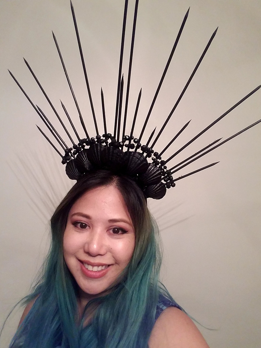 diy sea witch crown