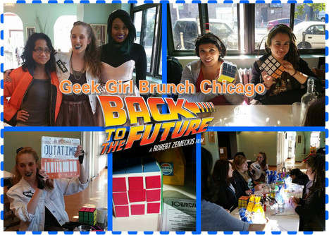 Geek Girl Brunch Chicago - Back to the Future