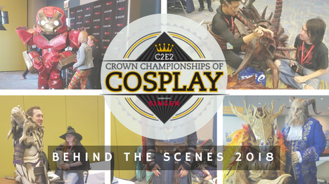 Behind the Scenes: Crown Championships of Cosplay 2018 - Contestant Interviews (Part 1)