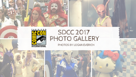 SDCC 2017 Photo Gallery