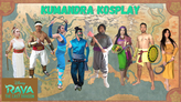 Raya and the Last Dragon Kumandra Tribe Cosplay: Our Story Through Cosplay