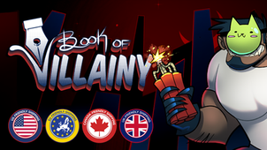 Book of Villainy: A Game About Being a B-List Villain, So You Write a Book About it Instead