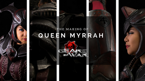 The Making of Myrrah (Gears of War)
