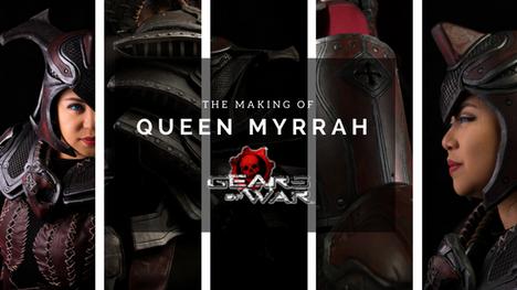 The Making of Myrrah (Gears of War)