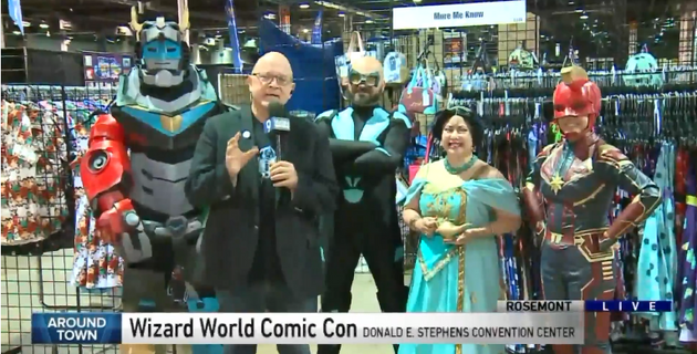 WGN FEATURE for Wizard World Chicago