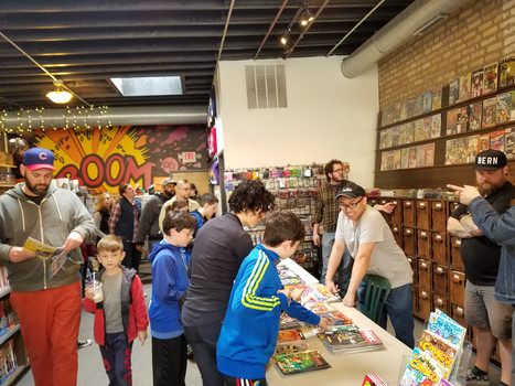 This is How Chicago Celebrated Free Comic Book Day 2016