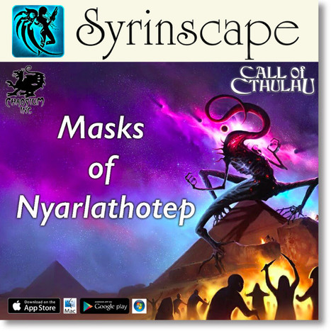 CALL OF CTHULHU COMING TO SYRINSCAPE