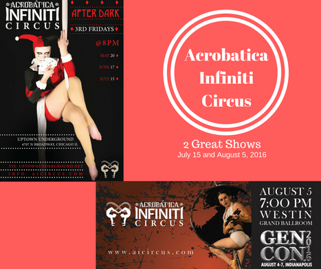 Actobatica Infiniti Circus 2 amazing shows for July and August 2016