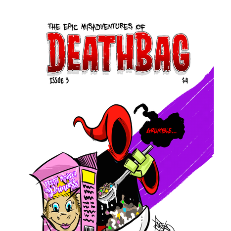 Deathbag: Holier Than Thou TPB and Issue 4 Kickstarter By Julio A. Guerra