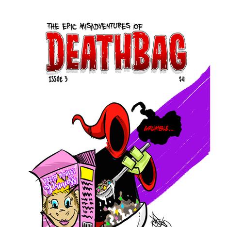 Deathbag: Holier Than Thou TPB and Issue 4 Kickstarter By Julio A. Guerra