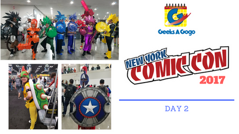New York Comic Con 2017 Day 2