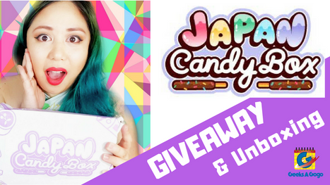 WIN A FREE Japan Candy Box - Geeks A Gogo Giveaway