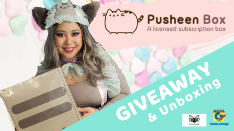Geeks A Gogo's Pusheen Subscription Box Giveaway (in Partnership with CultureFly)