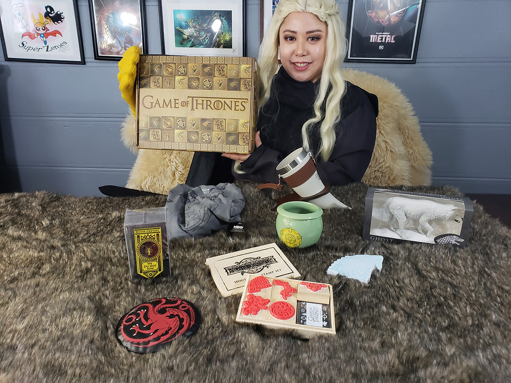 Game of Thrones Culture Fly Unboxing Video