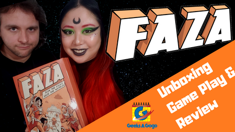 Faza: A Space Apocalyptic Board Game Promoting Diversity