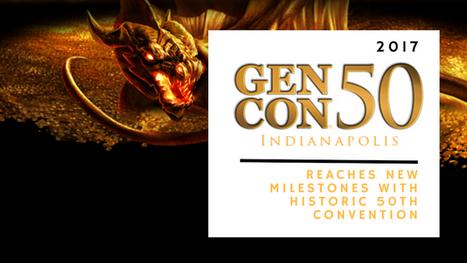 Gen Con Reaches New Milestones with Historic 50th Convention