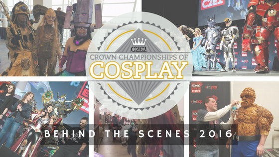 Behind the Scenes- Crown Championship of Cosplay 2016