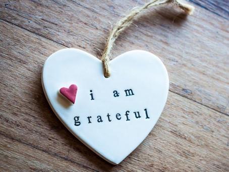 Be Grateful. Be Kind.