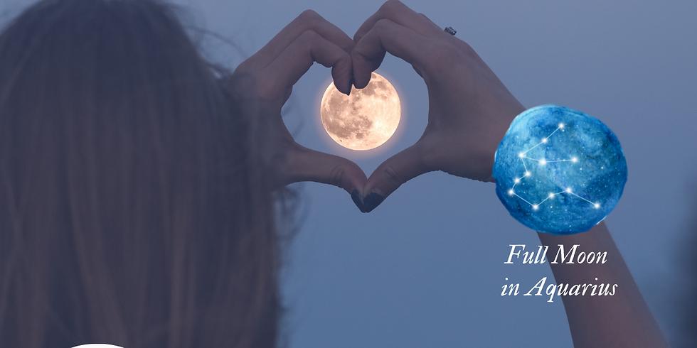 Full Moon Forgiveness Circle - July 23, 2021
