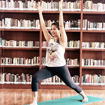 Yoga with Chandra KJ!