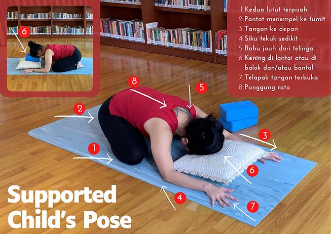 Bengkel Yoga Asana - Supported Child's P