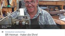 Feintäschnerei Rau zu Gast im bayrischen Rundfunk
