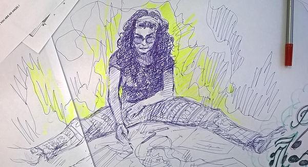 Rosamaría Bolom by Elina Nissinen