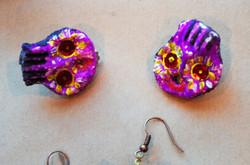 Calaveras earrings