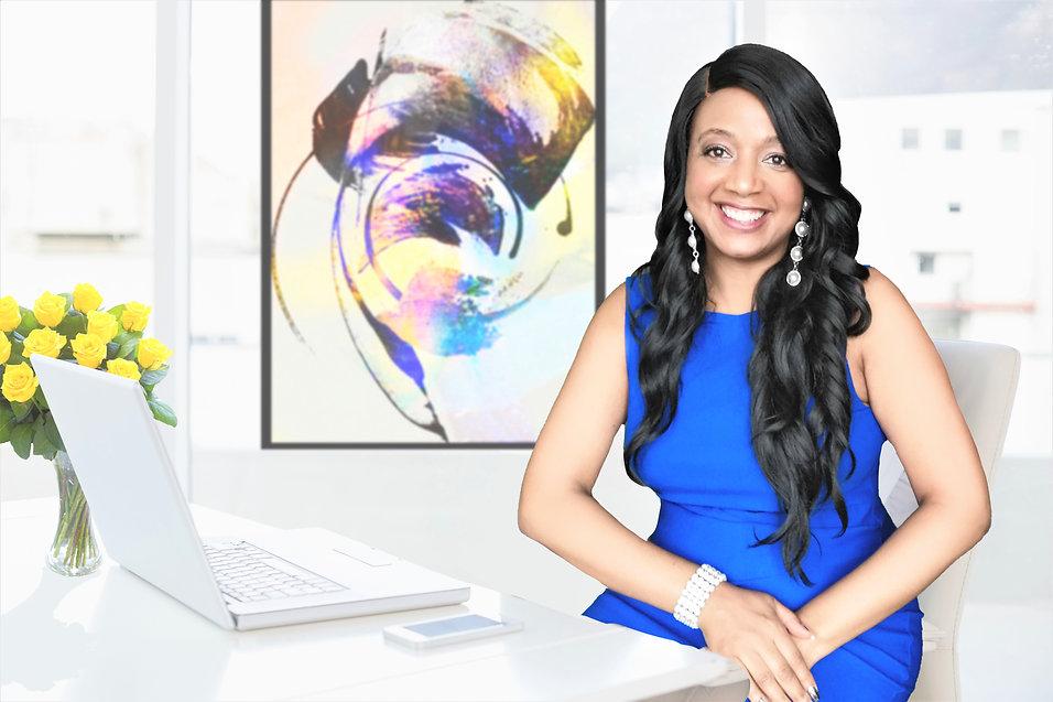 blue dress office desk art on wall_LI (3).jpg