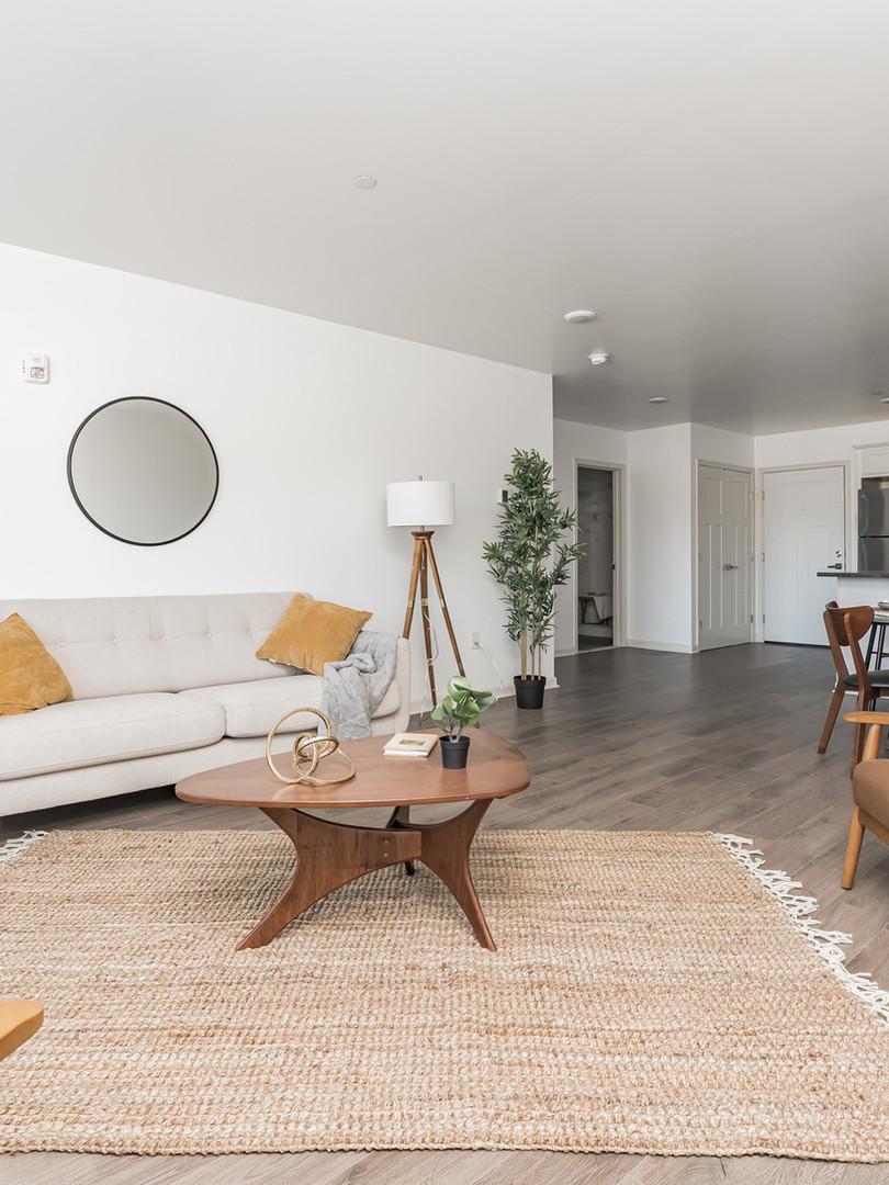 Living Room - 1 Bedroom, 1 Bath