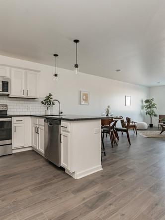 Kitchen/Living Room - 1 Bedroom, 1 Bath