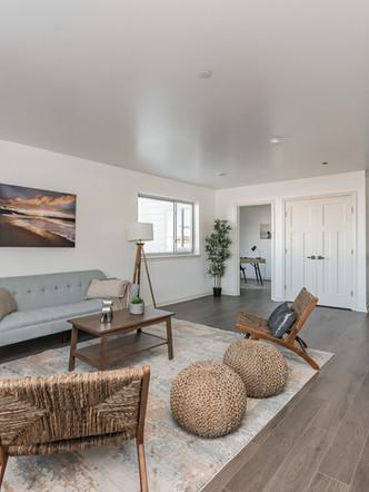 Living Room - 2 Bedroom, 2 Bath