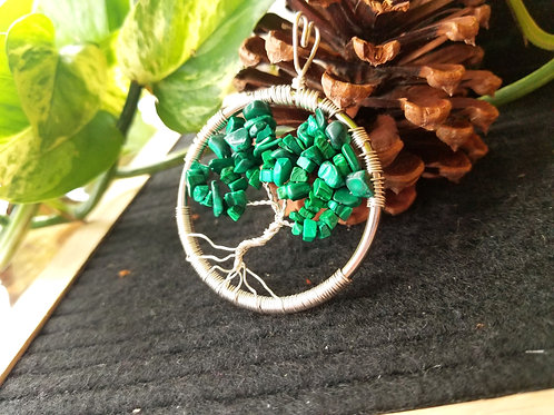 Malachite Tree of Life