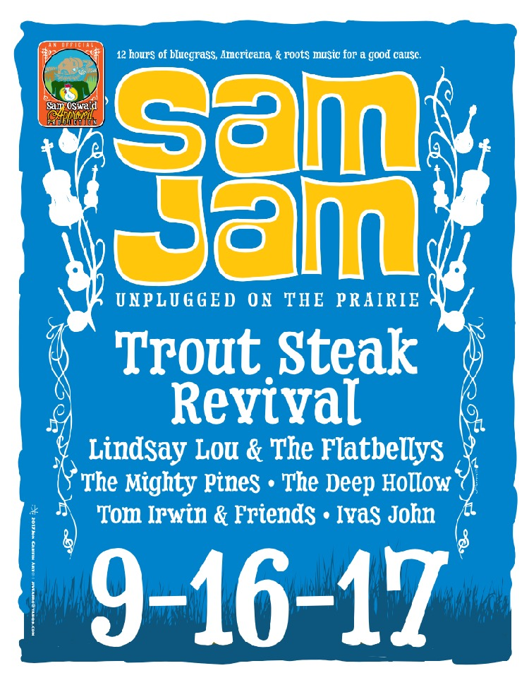 Sam Jam Trout Steak Revival
