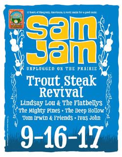 Sam Jam Trout Steak Revival