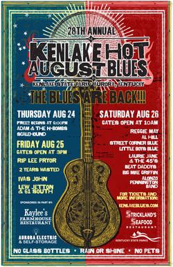 Kenlake Hot August Blues Festival