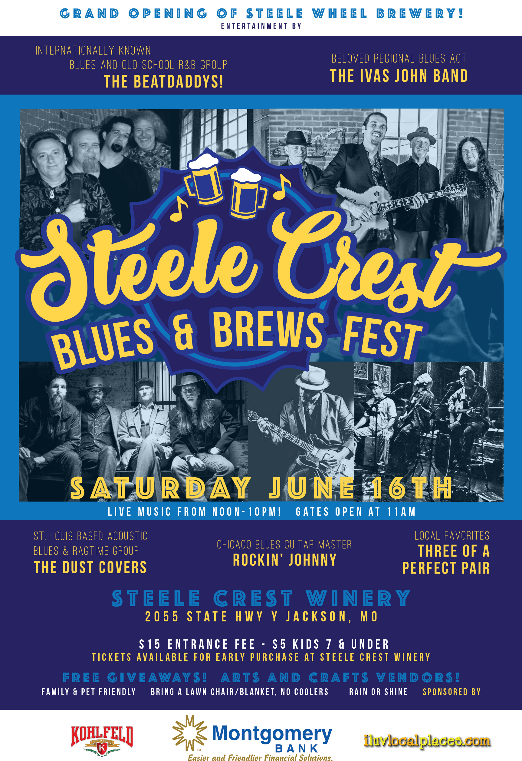 STEELE CREST BLUES & BREWS FEST