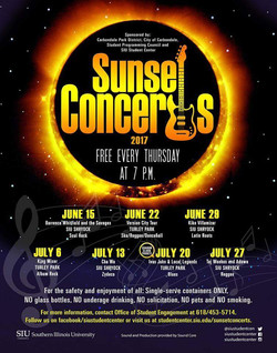 Sunset Concerts 2017