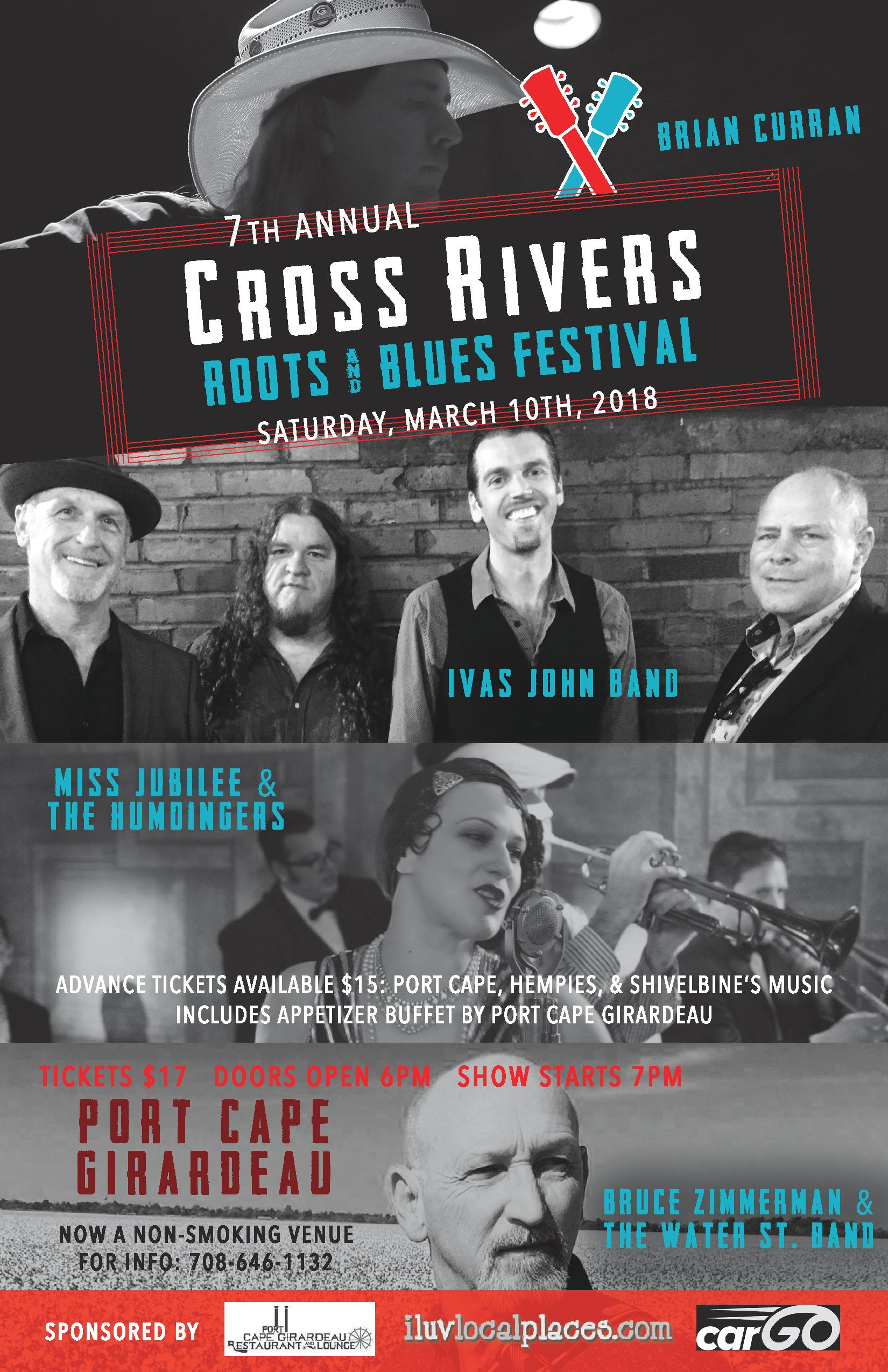 Cross Rivers Roots & Blues Festival