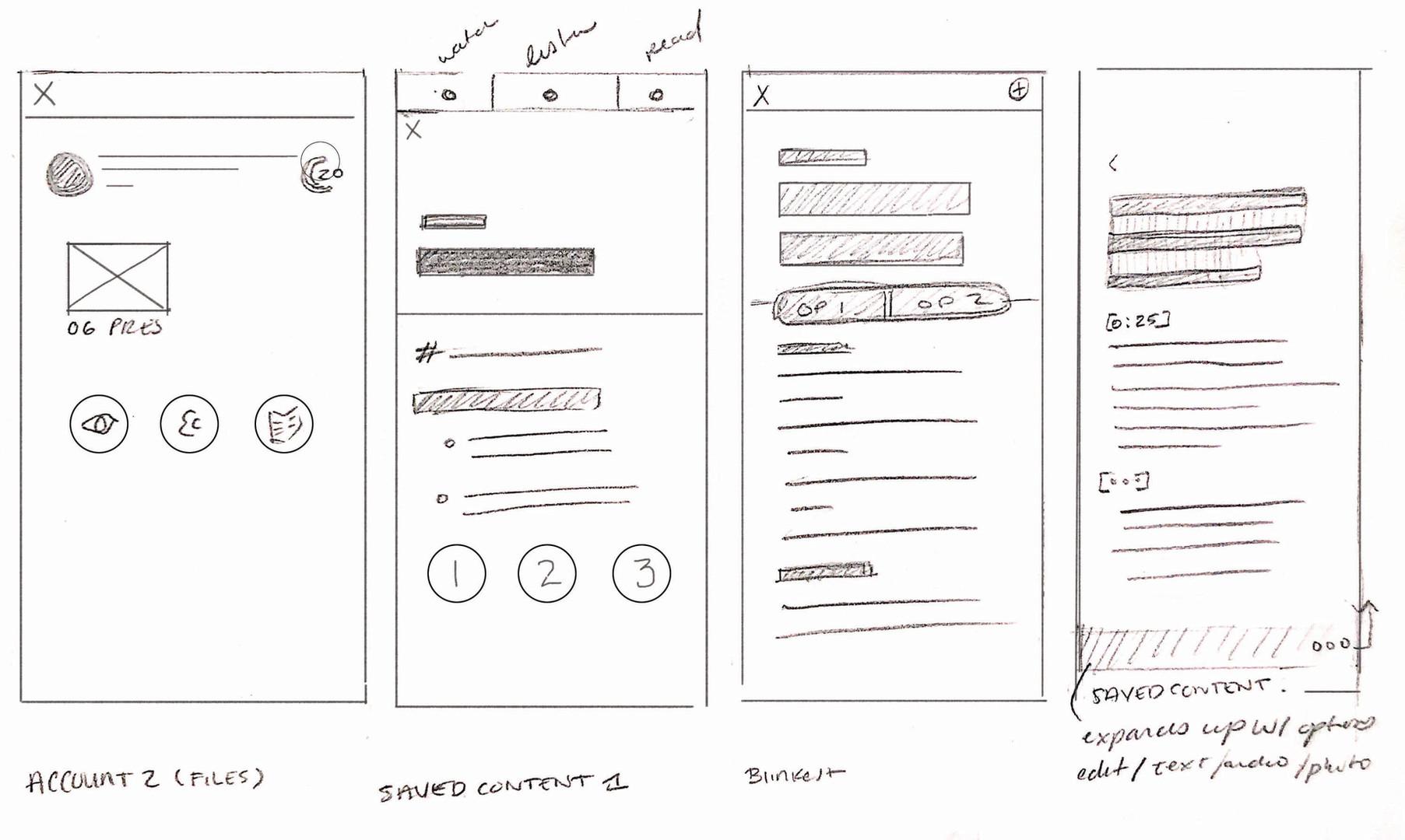 Hearmo Paper Prototypes 2