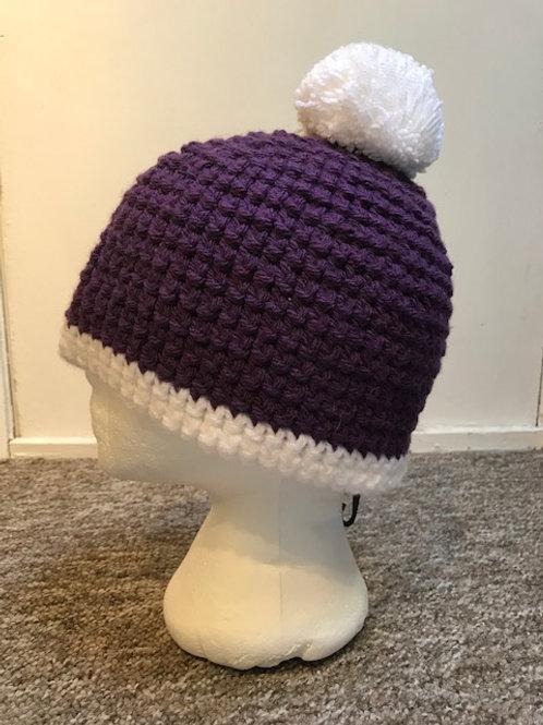 Bobble Hat -Purple