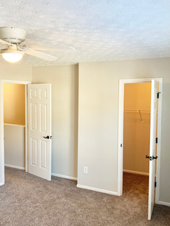 Perfect Walk-In Sized Closets in Every Master Bedroom!