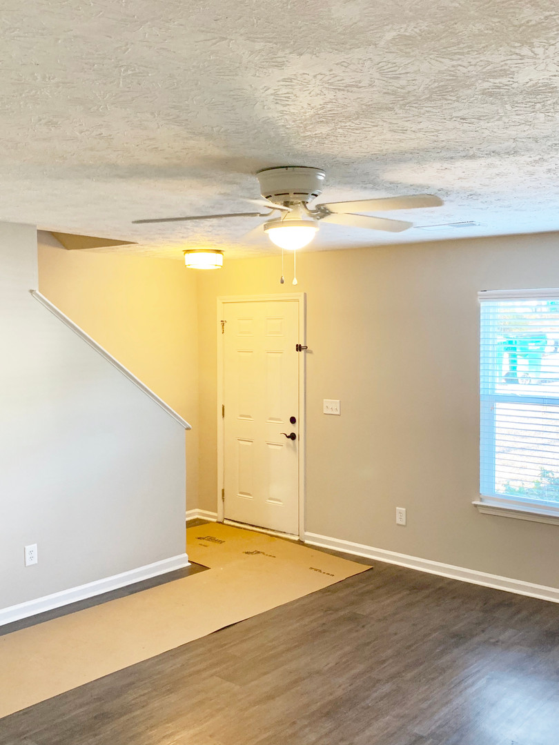 Double Windows In Living Rooms & Master Bedroom Let In SO Much Natural Light!