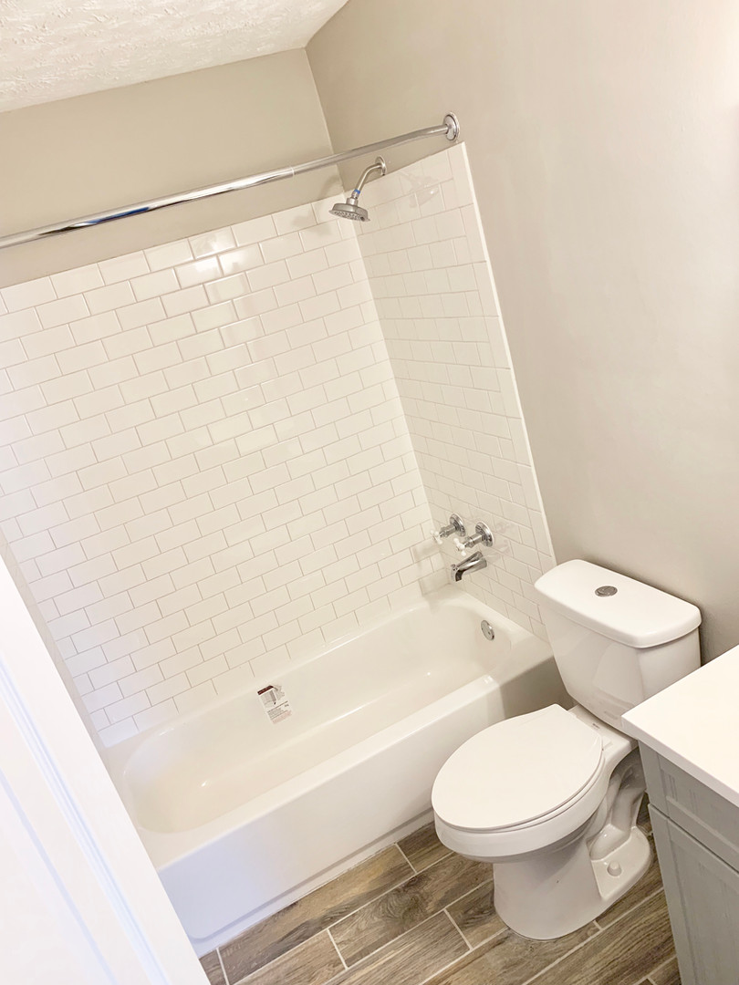 Custom Tile Shower Surrounds in All Master Baths!