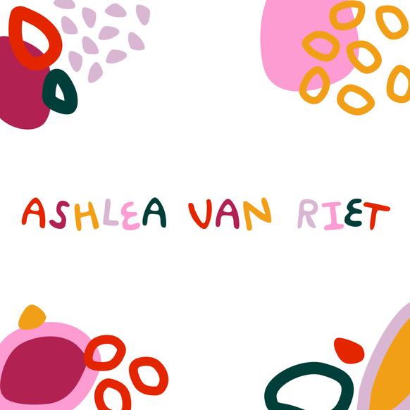 Ashlea Van Riet logo