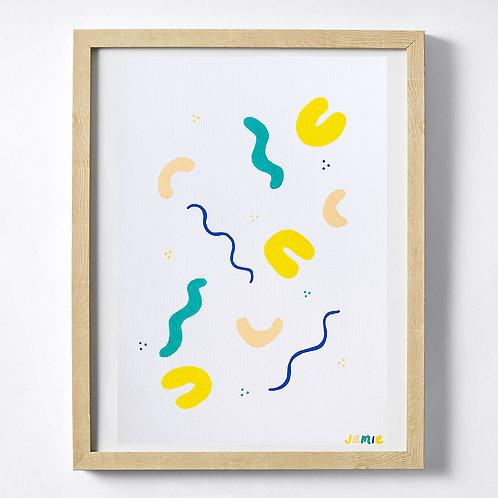 Space Original Print