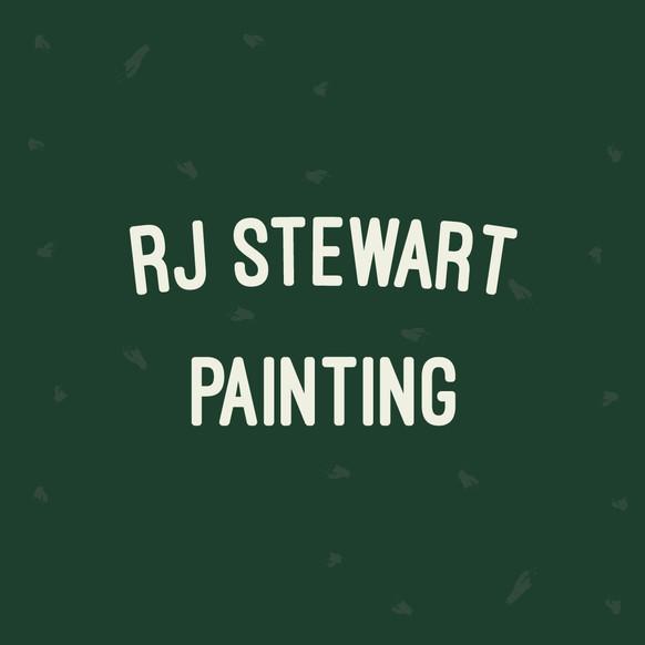 RJ Stewart Painting logo